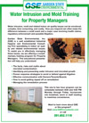 Water Intrusion and Mold Training for Property Managers